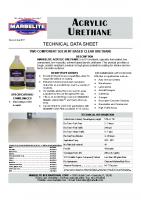 Acrylic Urethane TDS