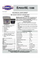 EpoxySL-100 TDS